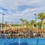 Un torneo di padel con i campioni dello sport e della tv